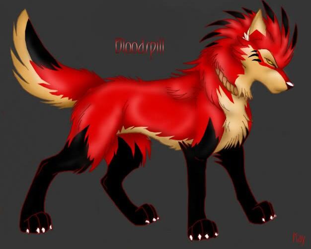 Dj Wolf's Fursona Avatar