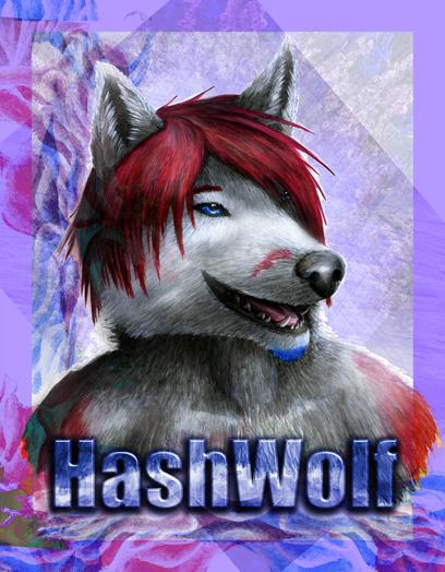 Hash's Fursona Avatar
