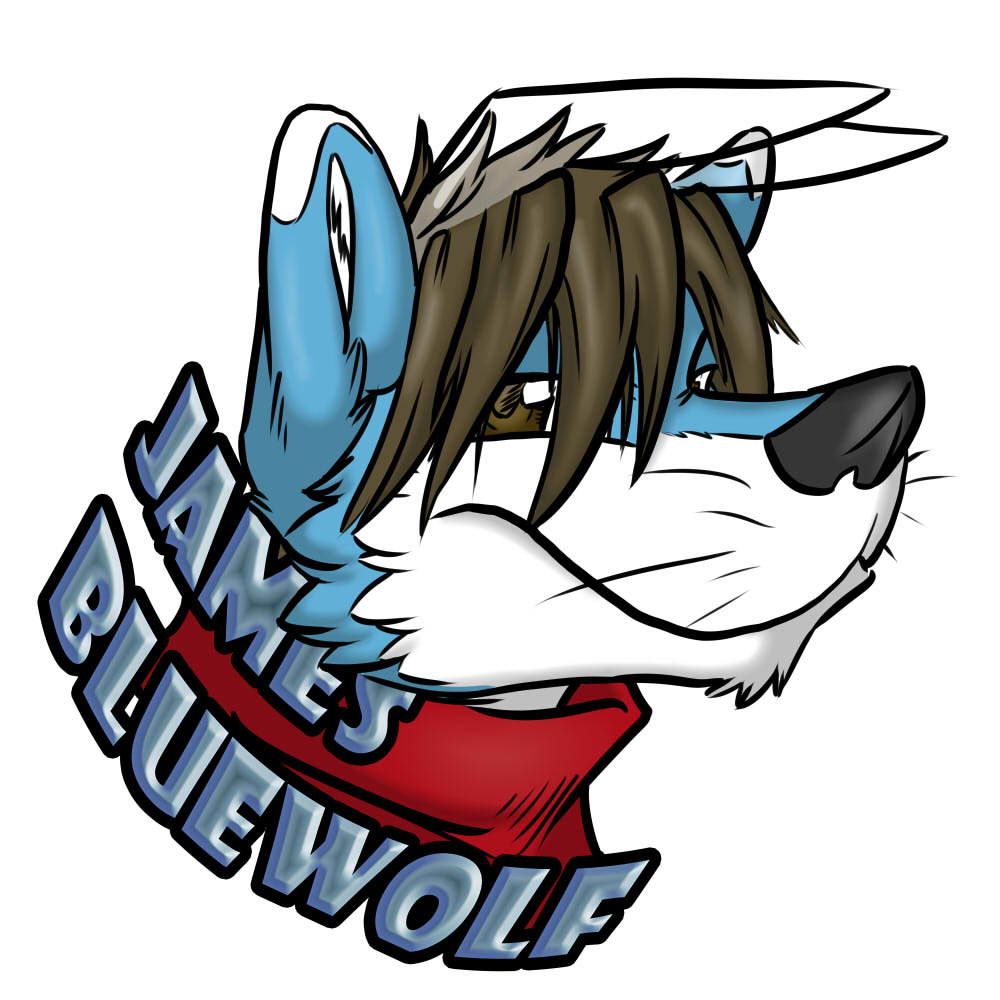 James bluewolf's Fursona Avatar