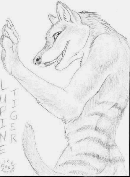Lupinetiger's Fursona Avatar