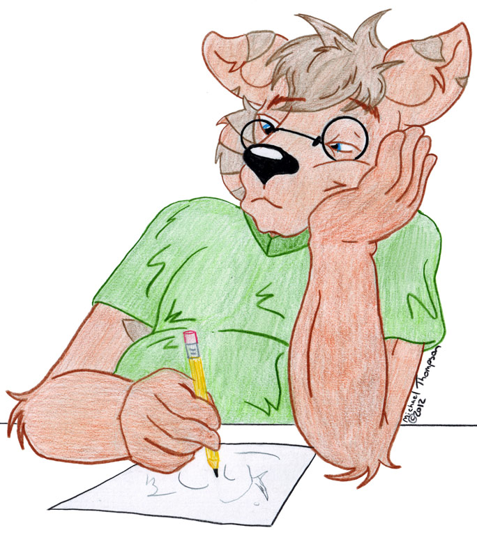 Mike Furry's Fursona Avatar