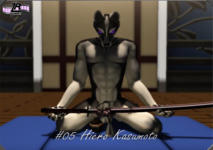 Hiero's Fursona Avatar