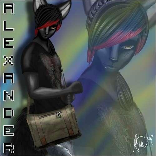 Alexander Avey's Fursona Avatar