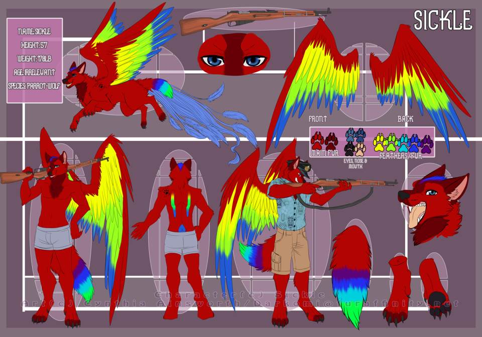 Sickle's Fursona Avatar
