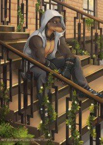 wolfe's Fursona Avatar