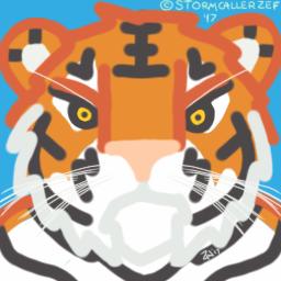 Swamp Tiger's Fursona Avatar