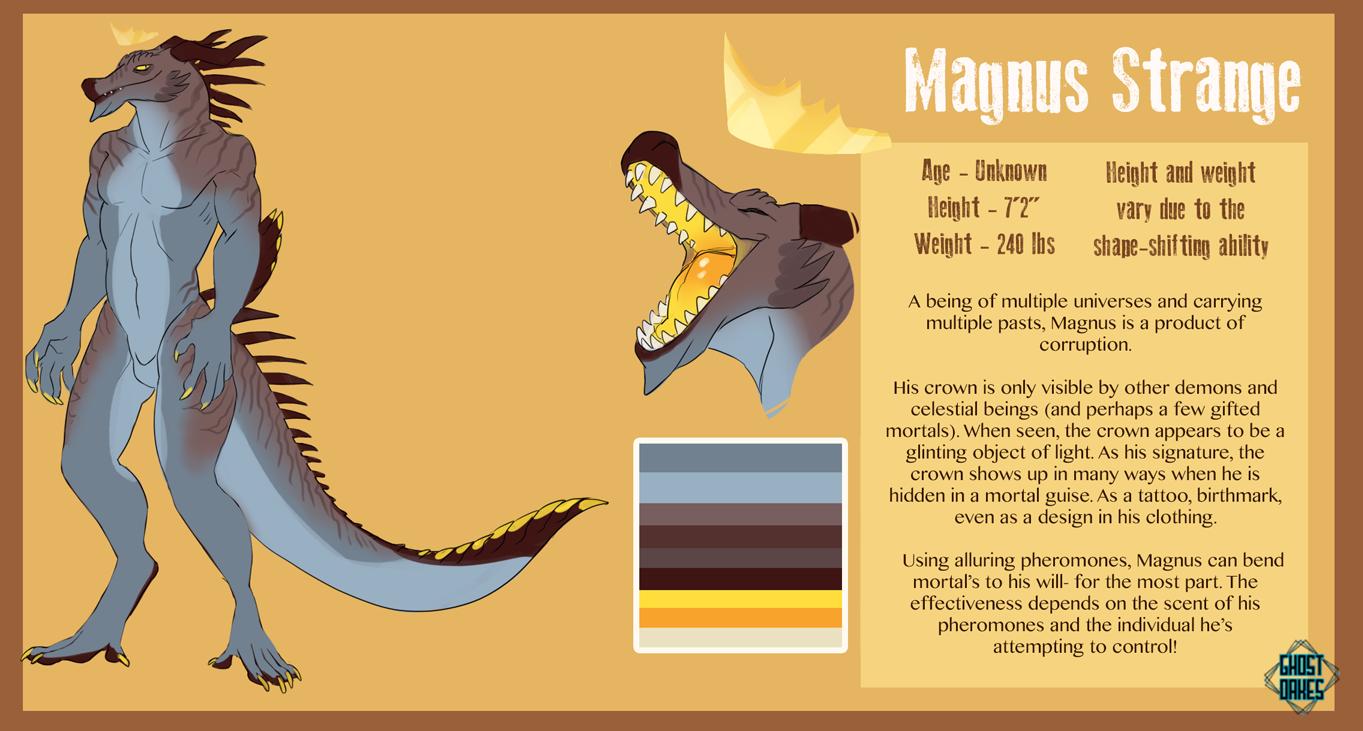 Magnus's Fursona Avatar
