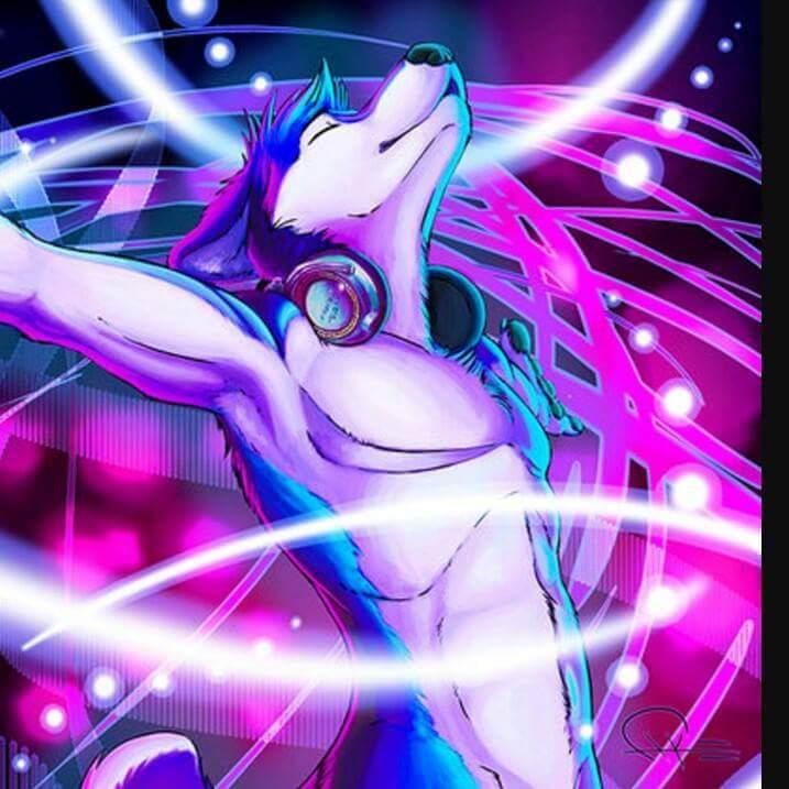 Wolfie's Fursona Avatar