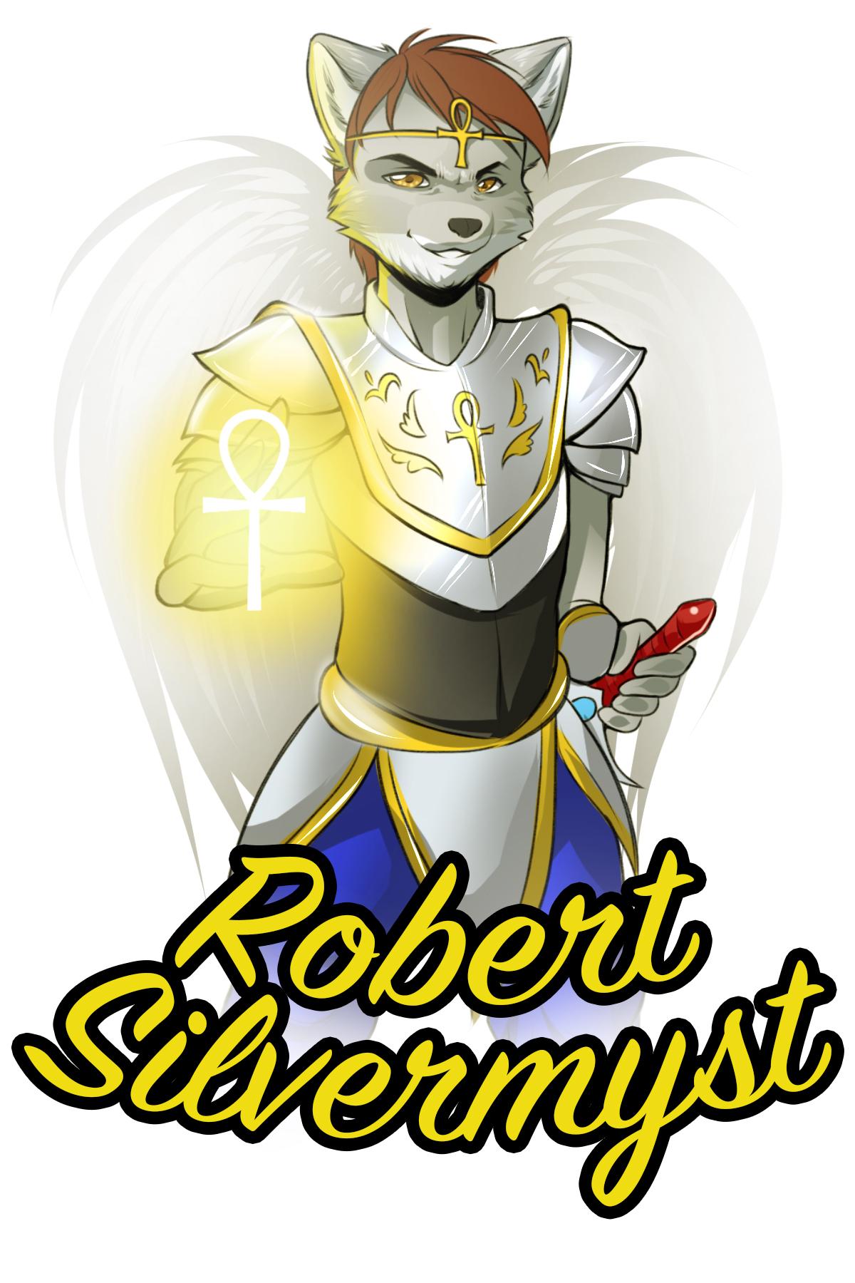 Robert Silvermyst's Fursona Avatar