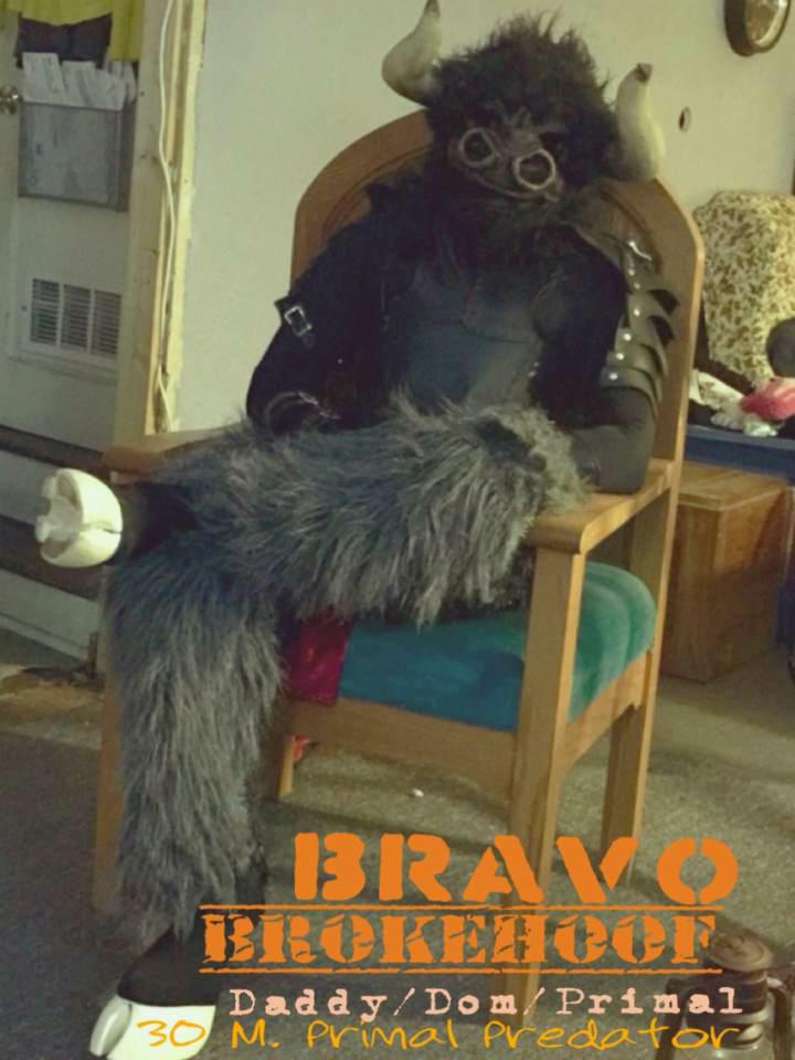 Bravo Brokehoof's Fursona Avatar