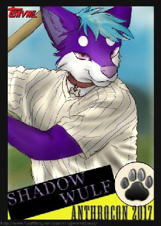 ShadowWulf's Fursona Avatar