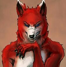 BloodWolf's Fursona Avatar