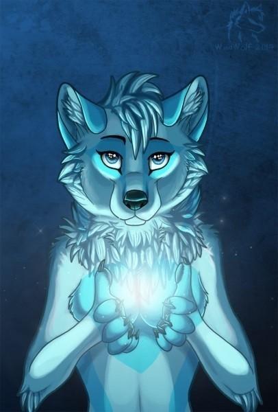 bluehart's Fursona Avatar