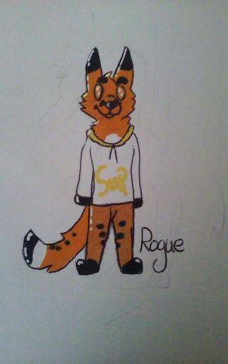 RogueFox's Fursona Avatar