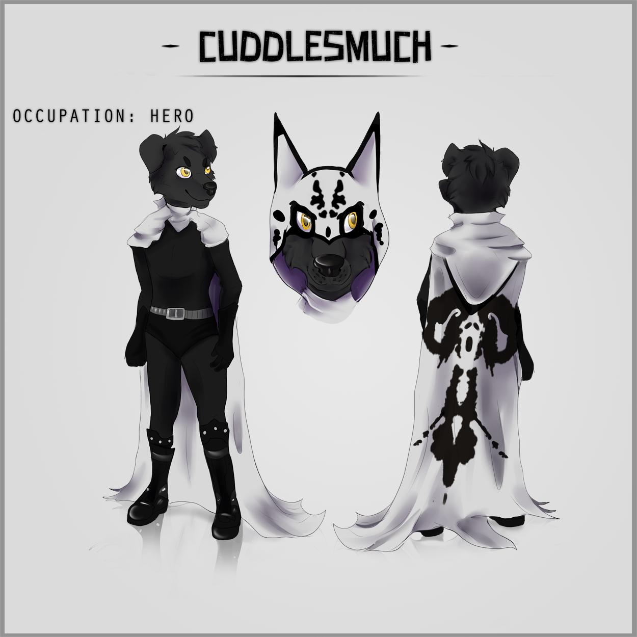 CUDDLESMUCH's Fursona Avatar