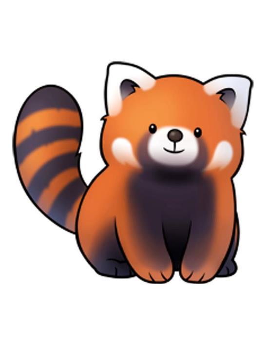 Zoghi Red Panda's Fursona Avatar