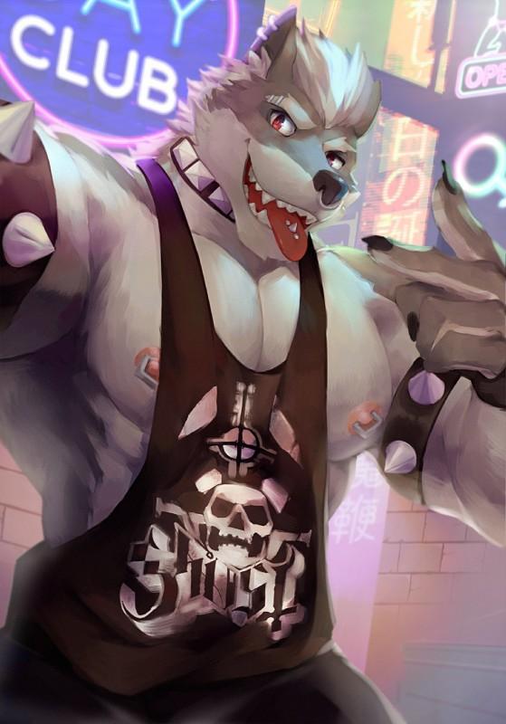 tallwolf's Fursona Avatar