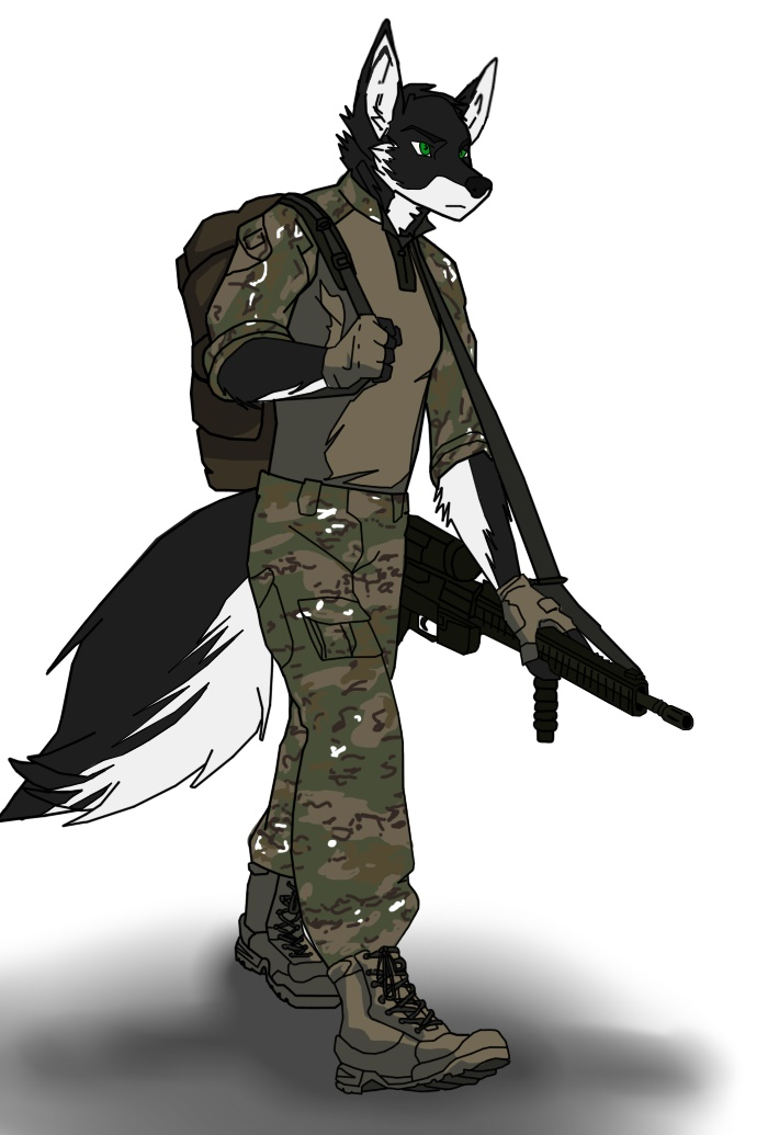 David Breach's Fursona Avatar