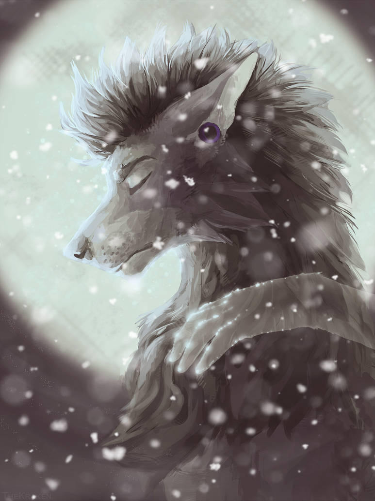 Fenrix Darkwolf's Fursona Avatar