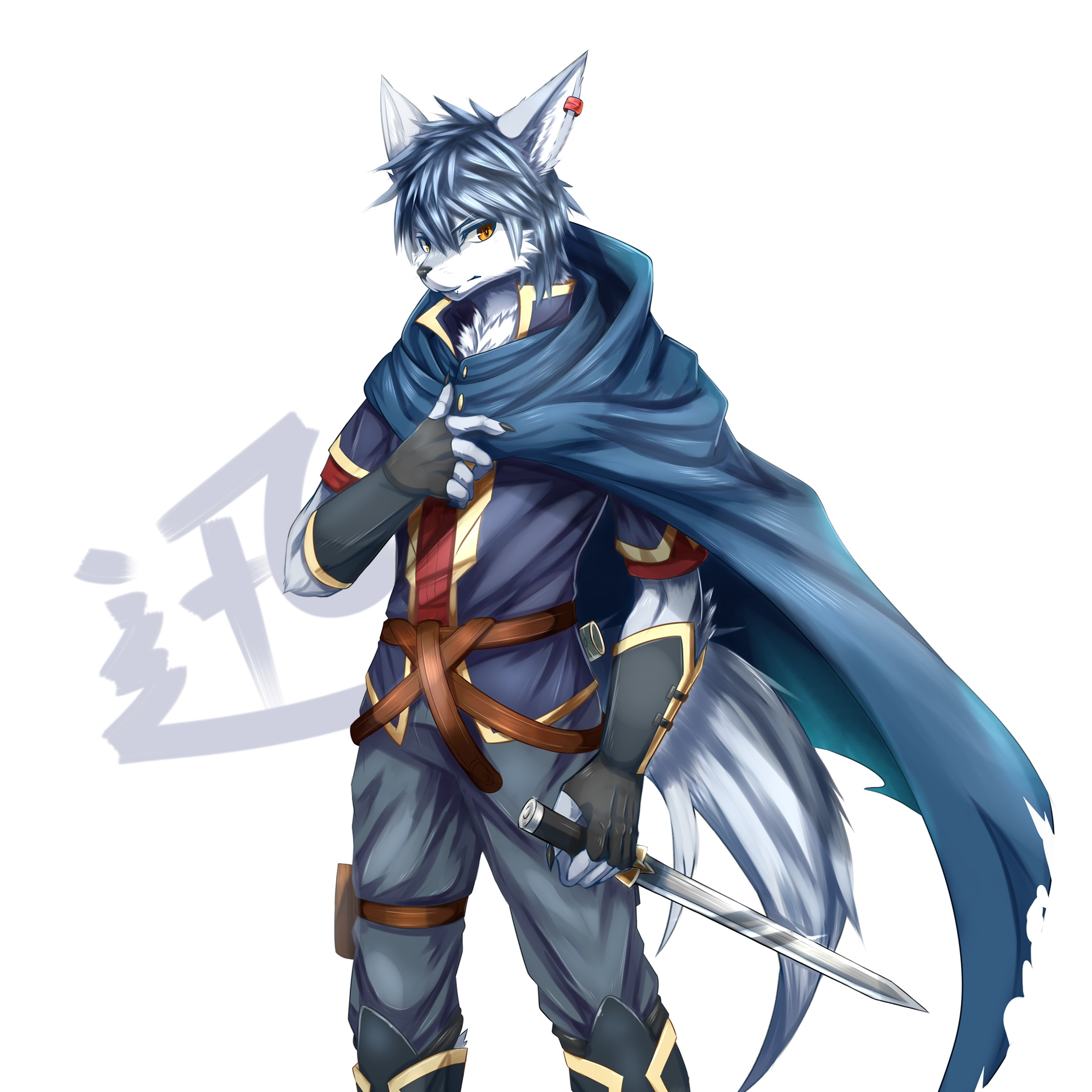 Fenwulf's Fursona Avatar