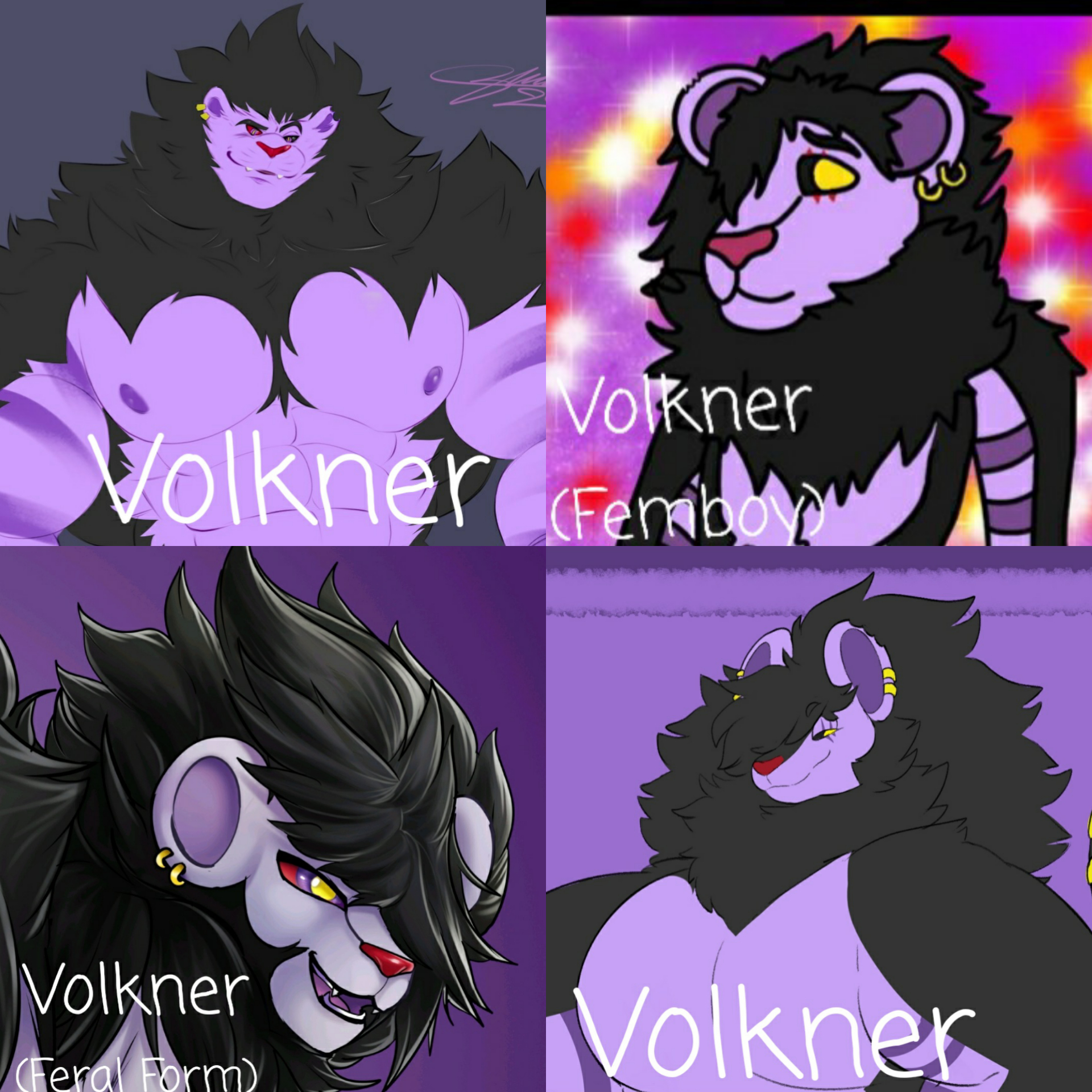 Volkner's Fursona Avatar