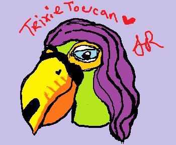 Trixie Toucan's Fursona Avatar