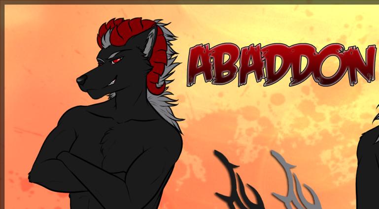 Abaddon's Fursona Avatar