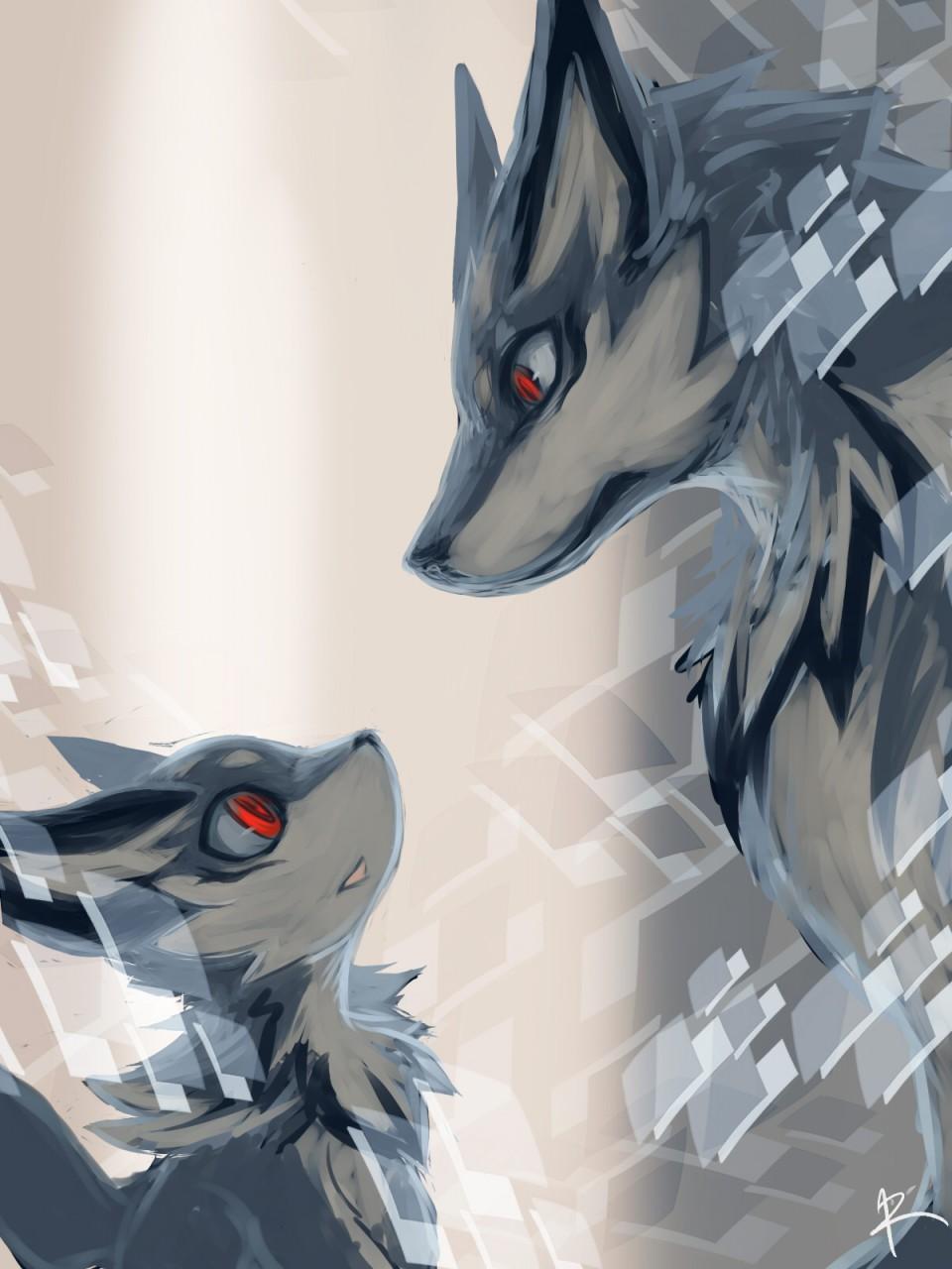 WolfySkywere's Fursona Avatar